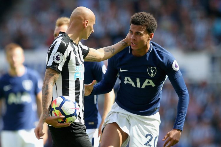 Premier League Newcastle United vs Tottenham