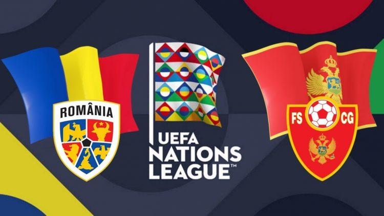UEFA Nations League Romania vs Montenegro