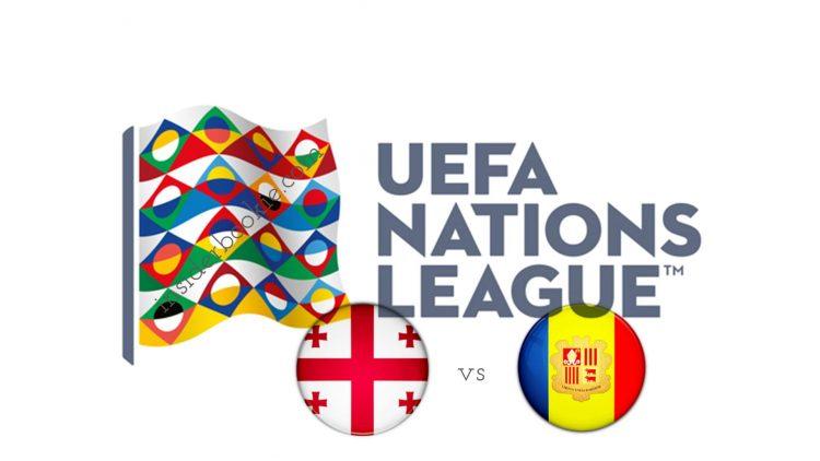 UEFA Nations League Georgia vs Andorra