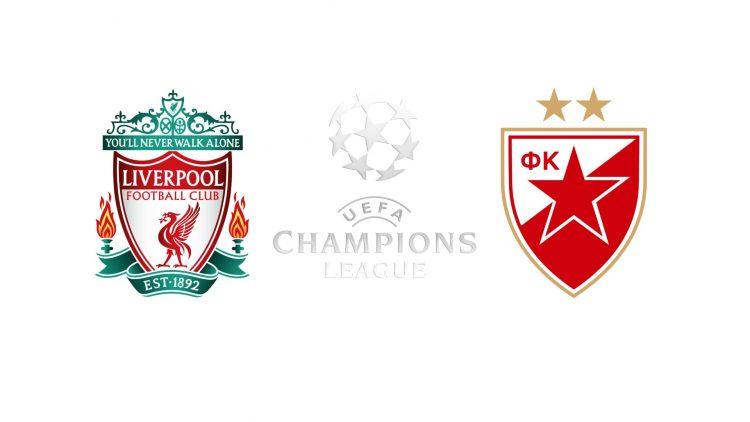 Champions League Liverpool vs Red Star Belgrade