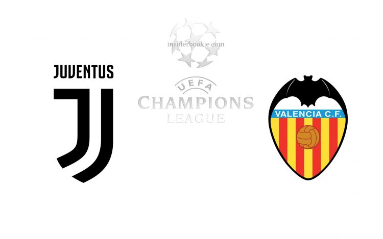 Juventus vs Valencia Champions League