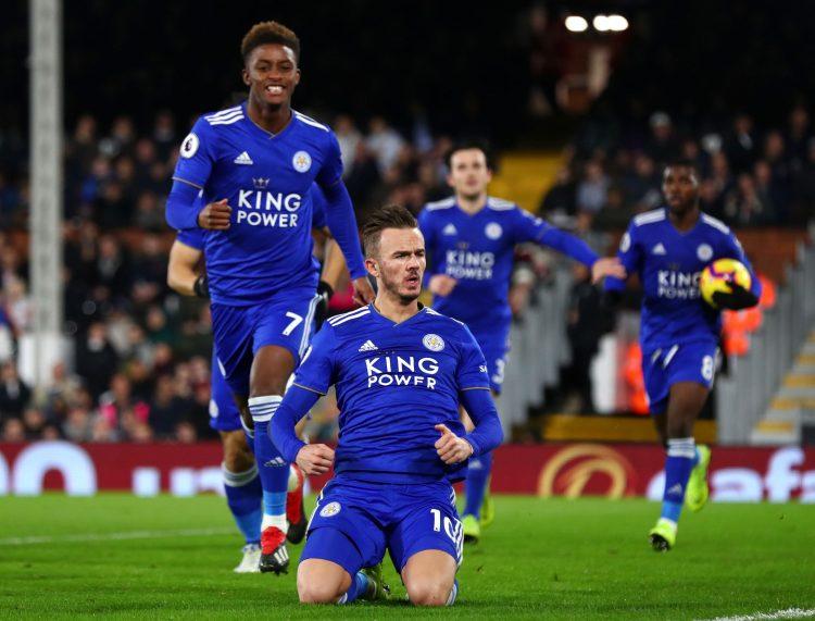 Crystal Palace vs Leicester Premier League