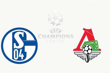 Schalke 04 vs FC Lokomotiv Moscow Champions League