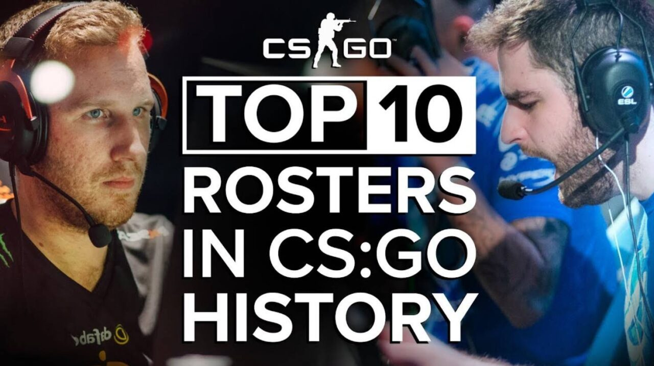 Our top 10 best CS players in history